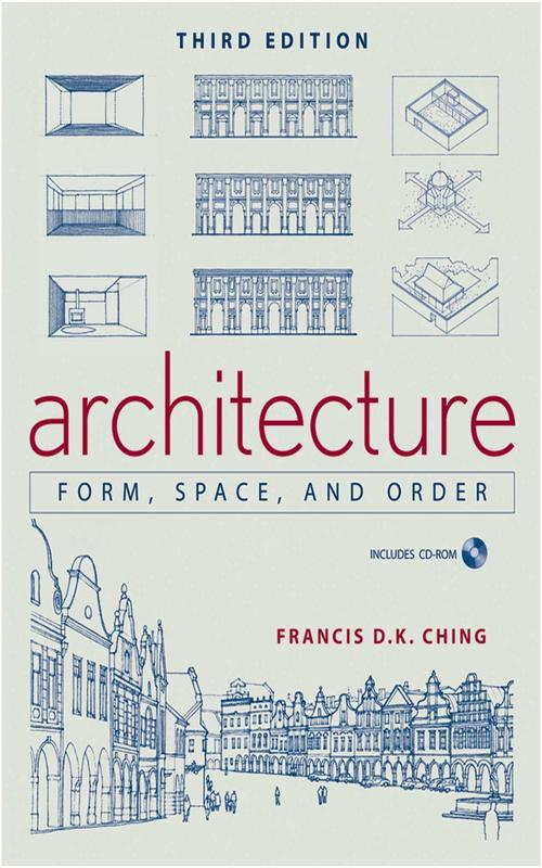 livres d'architecture, forme, space
