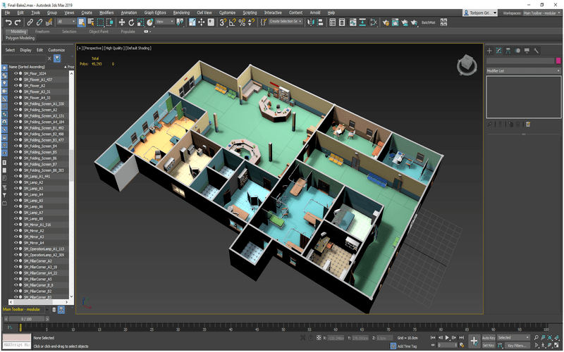logiciel d'architecture-3ds-max