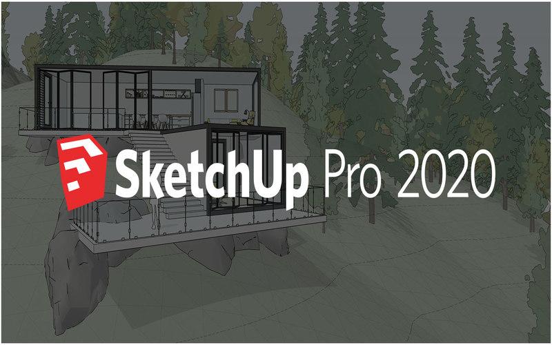 sketchup pro2020