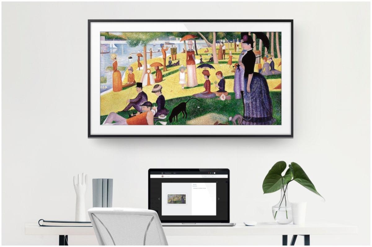 Galeries d'art écran tv