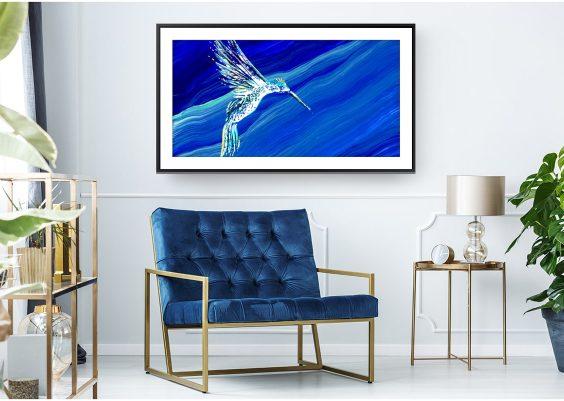 Galerie d'art écran tv